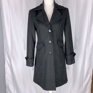 Marcelle Renee Lux Wool Blend Coat Size Small